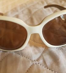 Bela sončna očala, kvalitetna, nenošena