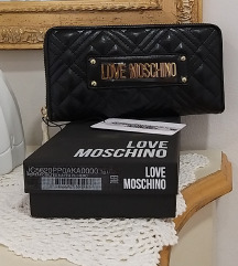 LOVE MOSCHINO, DENARNICA, ORIG., STALA 90€