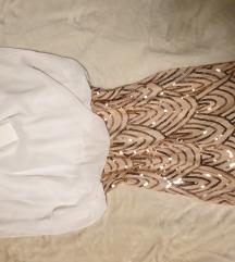 Obleka z bleščicami