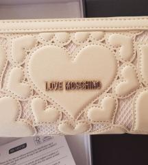 ♥ LOVE ♥ MOSCHINO ORIGINAL + NOVA denarnica ♥