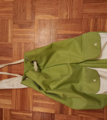 Torba v belo zeleni kombinaciji