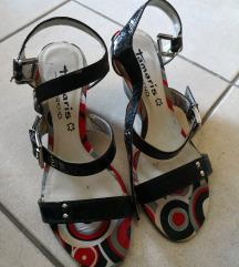 Tamaris sandali polna peta