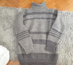Crtan pulover M puli