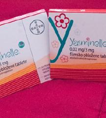 Prodam 2x kontracepcijske tablete Yasminelle