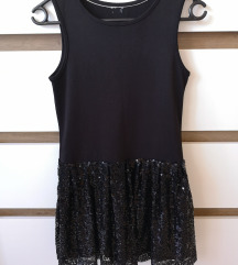 Črna obleka z bleščicami