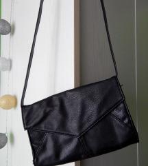 Pisemska črna torbica Six