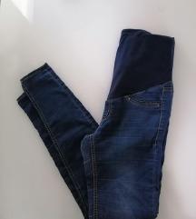 H&M mama nosečniške jeans hlače 36