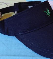 Ženska kapa z ščitom - visor
