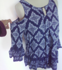 nova off shoulder modna tunika,S,etno