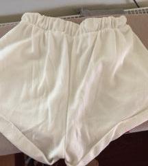 Bele kratke hlače h&m