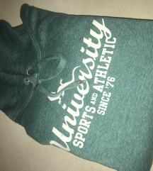 University pulover z kapuco