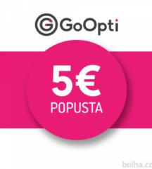 GO OPTI popust 5€ 2019 RFLI4UCT9XGL