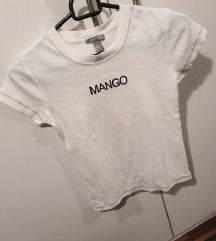 Bela majica Mango