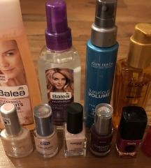 Različna kozmetika-vse skupaj zelo ugodno