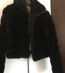 Krznena SISLEY jakna S/M