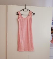 Roza mini obleka
