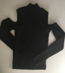 Črna polpuli majica