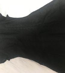 Crna kratka obleka