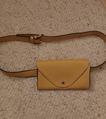 Rumena torbica za okrog pasu / opasna torbica