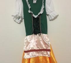 Oktoberfest, bavarka, točajka ženski pustni kostum