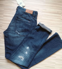 👄TOMMY HILFIGER RIPPED JEANS STRAIGHT M/L