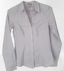 Svetlo vijolična črtasta srajca