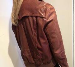 Vintage usnjena jakna