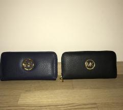 Michael Kors MK denarnica črna in modra