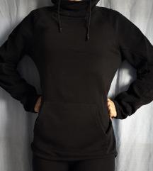 Črna športna majica H&M, XS