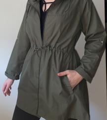Zelena tanka jakna