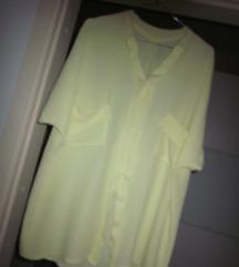 bluza nežno rumena nova XL