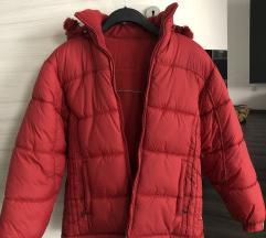 Times rdeča obojestranska bunda