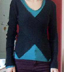 Črna majca - pulover