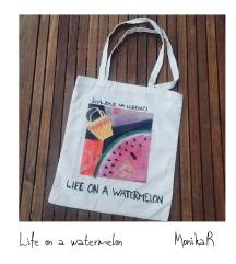 Tote bag, Watermelon