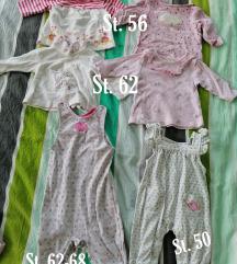 Majice in pajaca 56-62