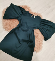 Zelena obleka UNI