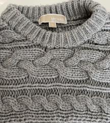Michael Kors chunky pulover, knit, kot nov