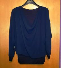 Elegantna modra bluza