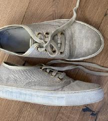 Creator usnjeni nizki čevlji