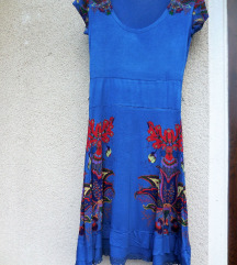 MISS MODA poletna modra oblekica