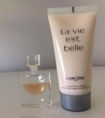La vie est belle, parfum + losjon