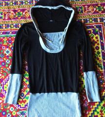 Črno siv puloverček