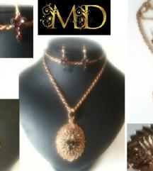 🌹ZNIŽANO MD čudovit komplet nakita