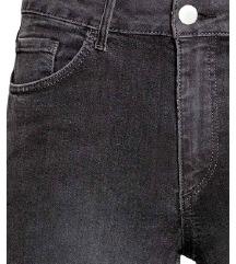 H&M high waist kavbojke - Z ETIKETO!