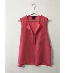 Roza elegantna srajca / bluza