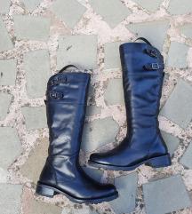 KLONDIKE št. 36 pravo usnje škornji kot novi