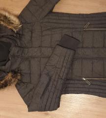 Ženska siva jakna/bunda