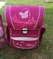 Roza šolska torba