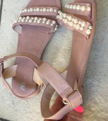 Zara sandali z biseri 35