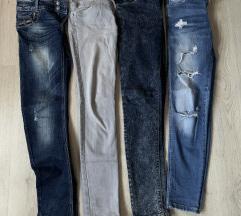 4x jeans hlače za 10 eur